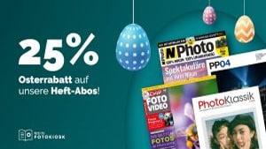 Osterrabatt: Sparen Sie jetzt 25%
