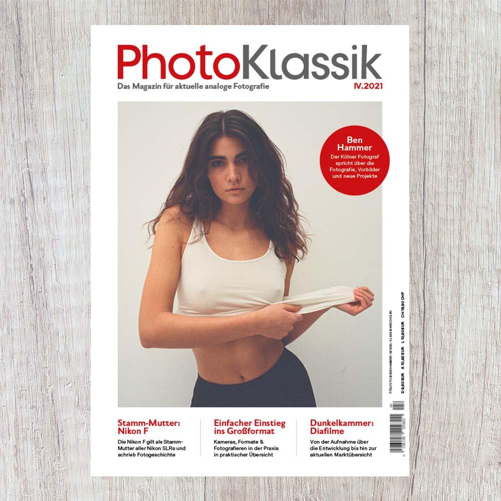 PhotoKlassik IV.2021: Analoge Fotografie – aktueller denn je